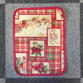 Tafelkleed - luxe gobelin - Kerst Schotland - Christmas - Loper 45 cm