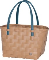 Handed By Color Block - Shopper - Hazelnoot bruin