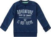 Beebielove sweater - 80 - BlauwWit