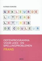 Gekleurde letters Lettres de couleur
