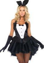 Sexy bunny konijnen outfit voor dames - Verkleedkleding - S/M