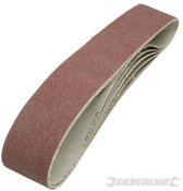 Silverline Schuurbanden 50 x 686 mm 5 stuks 80 korrelgrofte