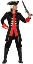 Kapitein piraat William verkleed jas voor heren XL