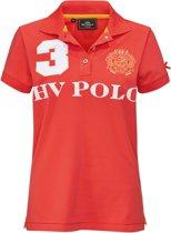 HV Polo Favouritas EQ SS - Poloshirt - Coral - XXL