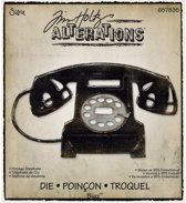 Sizzix 657835 - Bigz Die - Vintage Telephone by Tim Holtz