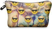 Zumprema Palm tree Emoji - Make-up Etui - Palmbomen