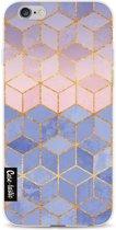 Casetastic Softcover Apple iPhone 6 / 6s  - Rose Quartz and Serenity Cubes