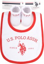 US POLO Baby Gift Set - Bright White - Maat 0-6M
