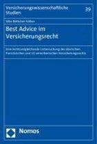 Best Advice Im Versicherungsrecht