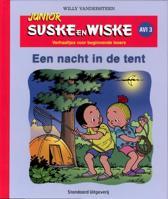 Junior Suske en Wiske - Junior Suske en Wiske Een nacht in de tent