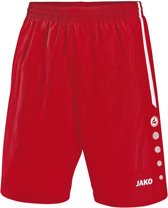 Jako Turin Short - Voetbalbroek - Jongens - Maat 152 - Rood