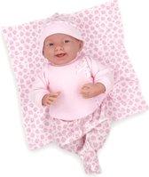 Berenguer babypop babypop 39 cm softbody met speen en deken