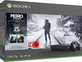 Afbeelding van Xbox One X console 1 TB + Metro Exodus