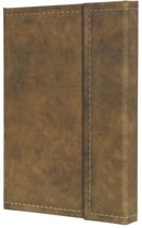 notitieboek Sigel Conceptum 194blz hard Vintage Brown 207x280mm geruit