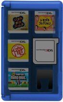 3DS Hori Game Card Case 24 blauw