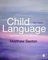 Child Language