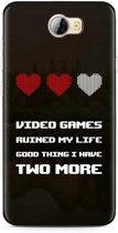 Huawei Y5II / Y6II Compact Hoesje Gamers Life