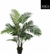 Mica kunstplant Areca palm 120 cm