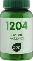 AOV 1204 Pre & Probiotica 30 vegicaps