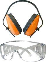 Skandia gehoorbeschermer 19 dB + veiligheidsbril