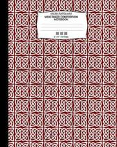 Celtic Knots Art, Wide Ruled Composition Notebook. 8x 10. 120 Pages