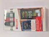 edding 4095 krijtmarkers 2-3 mm. Set van 5 stuks, 2 wit, 1 zwart, 1 rood en 1 groen - krijtmarker - raamstift - raamstiften - chalkmarker – krijtstift – glasstift – schoolbordstift – krijtbordstift – stoepbordstif