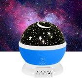 Kerst sale   Roxiq sterren projector – 24 verschillende standen - 360 graden rotatie