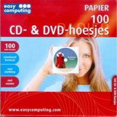 Easy Computing 100 Cd- & Dvd Hoesjes met Venster