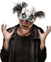 """""""Halloween masker van zombie clown volwassenen - Verkleedmasker - One size"""""""
