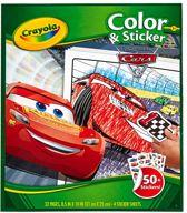 Crayola Cars 3 Kleurboek met stickers