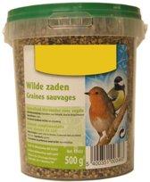 Vogelvoer wilde zaden 500 gram - set van 5 stuks