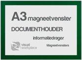 Magneetvenster A3 - Groen