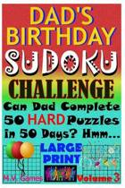 Dad's Birthday Sudoku Challenge