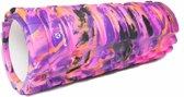 #DoYourFitness - Fascia rol - »Khanna« - foam roller voor pilates en zelfmassage - L34cm x D14cm - Multi-Color : Pink