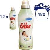 Le Chat Wasverzachter Aloë Vera - 12 x  1L/40SC - voordeelverpakking