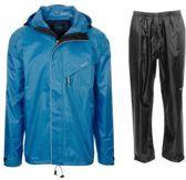 AGU Passat Essential Regenpak - Unisex - Maat XL - Blauw