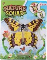 Toi-toys Nature Squad Opwindbare Vlinder 12 Cm Geel
