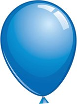Topballon donkerblauw (Ø91cm, 6st)