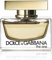 MULTI BUNDEL 3 stuks Dolce and Gabbana The One Eau De Perfume Spray 75ml