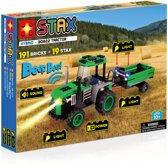 STAX Hybrid Tractor bouwen met licht en geluid