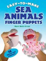 Easy to Make Sea Animals Finger Puppets