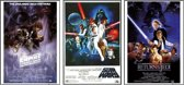 Posters-Star Wars-Poster set-3 posters-Aanbieding-61x91.5cm.