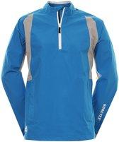 Adidas Golf Jack Paclite Gore-tex Korte Rits Heren Blauw Mt 2xl