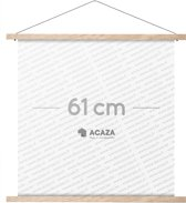 Acaza Poster Ophangsysteem - Posterhanger Eik 61cm
