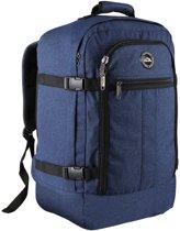 CabinMax Metz – Handbagage - Rugzak 44l– Schooltas - 55x40x20cm – Lichtgewicht - Blauw (MZ ABE)