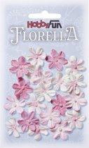 FLORELLA-Bloemen roze, 2cm
