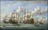 Jan de Querely - 4 daagse zeeslag 1666 (1000 stukjes)