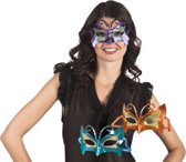 48 stuks: Masker Venetie - promo in 3 kleuren - assorti