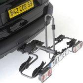Mottez - Fietsendrager trekhaak opvouwbaar (2 fietsen)