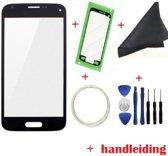 LCD scherm - glas geschikt voor Samsung Galaxy S5 mini reparatie set - zwart